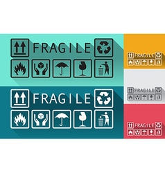 Fragile vector image