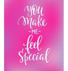 Love valentines day quote typography vector
