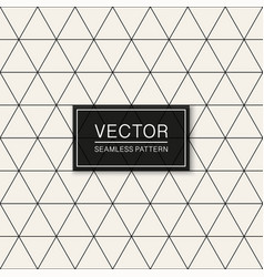 Seamless geometric simple pattern thin vector
