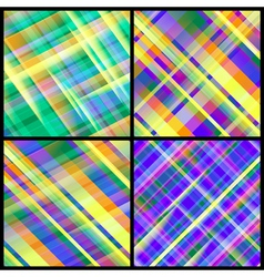 Set of 12 abstract backgrounds vector image