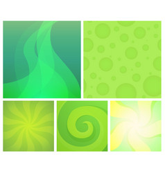 set of abstract backgrounds - element vector image