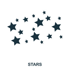 stars icon flat style icon design ui vector image