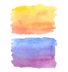watercolor abstract hand painted vector image vector image