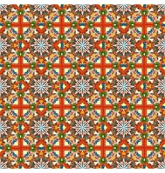 abstract seamless colorful ethnic pattern vector image