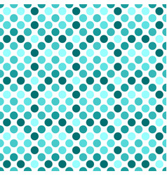 Circle pattern background design - teal abstract vector