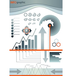 infographic design set element vector image