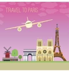Travel to Paris 04 A vector