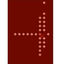 Rhombuses vector image vector image