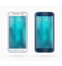 Galaxy S6 Edge vector image vector image