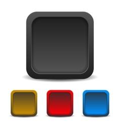Icon template Empty box vector image