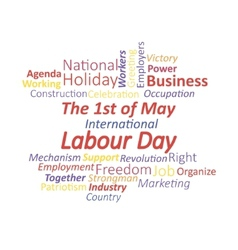 Labour Day vector image
