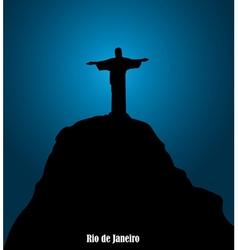 Monument in brazil vector