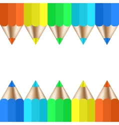 modern pencil background vector image