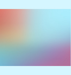 abstract blur background blue pink color vector image