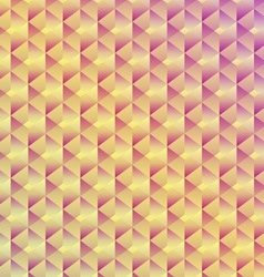 Abstract seamless geometric cubic background vector