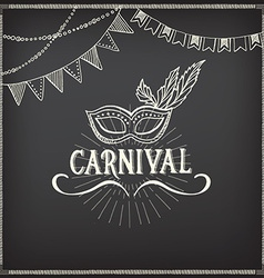 Carnival icons sketch design vector image