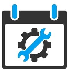 Configuration Tools Calendar Day Toolbar vector