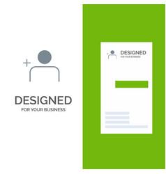 Discover people instagram sets grey logo design vector
