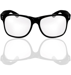 Glasses vector image
