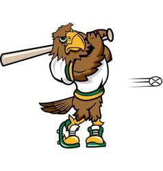 Hawk baseball sports logo vector