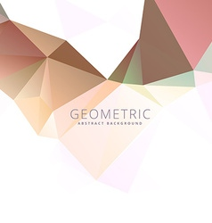 Low polygonal abstract background vector