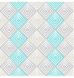 retro mosac seamless pattern vector image