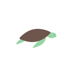sea turtle graphic design template isolated vector image