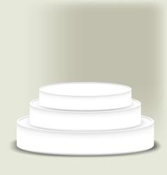 white scene vector image vector image