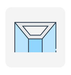 ceiling material icon vector image
