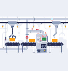 Conveyor industrial conveyor belt manufacturing vector