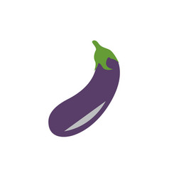 eggplant graphic design template isolated vector image