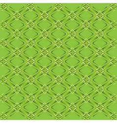 Green rhombus grid background vector