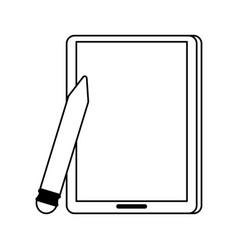 Pencil cartoon draw vector