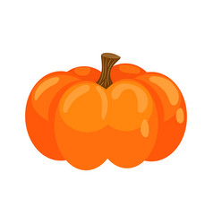 pumpkin isolated clipart icon vector image