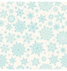 Seamless winter retro pattern EPS 10 vector image