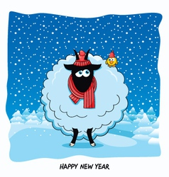 The Year of the Goat vector image vector image
