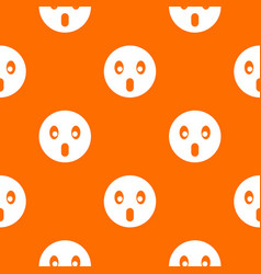 Frightened emotpattern seamless vector