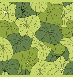 Lily pads blanket full coverage pattern vector