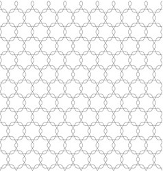 monochrome seamless pattern oriental style vector image