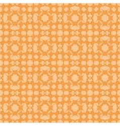 Orange Ornamental Seamless Line Pattern vector