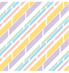 pale color stripe pattern seamless pattern vector image