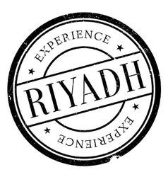Riyadh stamp rubber grunge vector