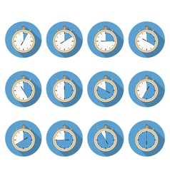 Timers vector image vector image