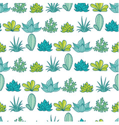 blue green stripes seamless repeat pattern vector image vector image