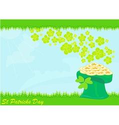 llustration of Saint Patrick s Day vector image