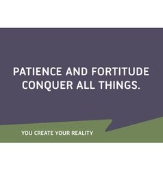 Motivational Quote Words That Inspire Your Succes vector image vector image