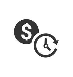 Budget plan icon vector