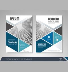 Business brochure design vector
