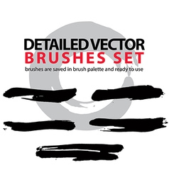 Collection of scanned and traced creative vector image