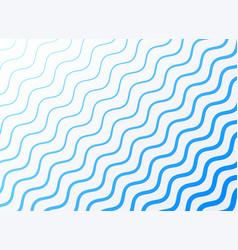 elegant blue wavy pattern background vector image
